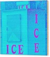 Ice Ice Baby Wood Print