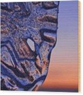 Ice Lord Wood Print