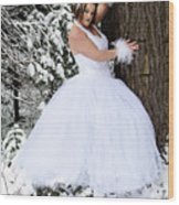 Ice Princess Sara 10 Wood Print