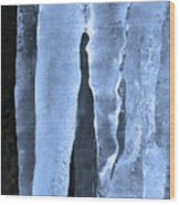 Ice Sculpture Wood Print