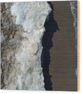 Ice Shelf Wood Print