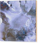 Ice Throne Wood Print