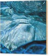 Iceberg Details #8 - Iceland Wood Print