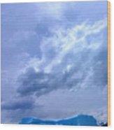Iceberg In Argentina Wood Print