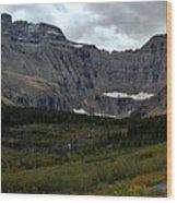 Iceberg Lake Trail Wood Print