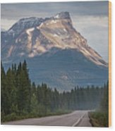 Icefields Parkway Banff National Park Wood Print