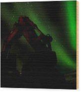 Iceland Borealis 1 Wood Print