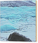 Iceland Glacier Bay Glacier Mountains Iceland 2 322018 1789.jpg Wood Print