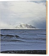Iceland Lava Field Mountains Clouds Iceland Lava Field Mountains Clouds Iceland 2 282018 1837.jpg Wood Print