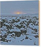 Iceland Lava Field Sunrise Mountains Clouds Iceland 2 2112018 1024jpg Wood Print