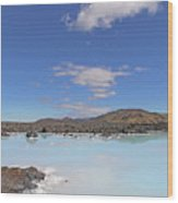 Iceland Popular Blue Lagoon  Wood Print