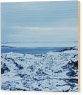 Iceland Rocks Lake Clouds Iceland 2 2112018 0935 Wood Print