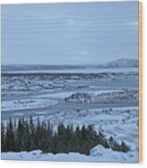 Iceland Trees Mountains Rivers Lakes Iceland 2 2112018 0942 Wood Print