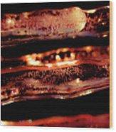 Icicles II Wood Print