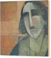 Icon Number Five Wood Print