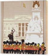 Iconic London  Wood Print