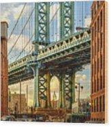 Iconic Manhattan Wood Print