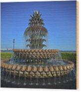 Iconic Pineapple Wood Print