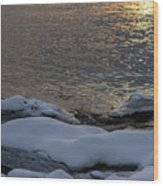 Icy Islands - Wood Print