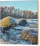 Icy Waters 2 Wood Print