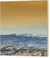 Idaho Landscape No. 2 Wood Print