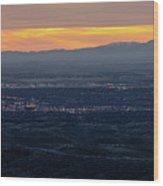 Idaho Landscape No. 3 Wood Print