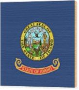 Idaho State Flag Wood Print