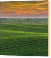 Idaho's Heartland Wood Print