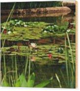 Idyllic Aternoon Wood Print