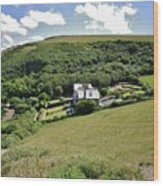 Idyllic North Cornwall Wood Print