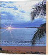 Idyllic Paradise In Bocas Del Toro, Panama II Wood Print