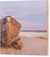 If I Had A Boat Wood Print