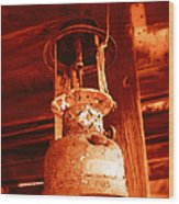 If The Lantern Could Speak Wood Print