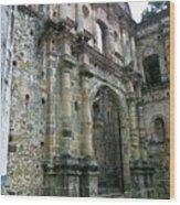 Iglesia De La Compania De Jesus 2 Wood Print
