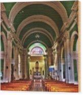 Iglesia De La Merced Wood Print