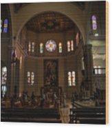 Iglesia Maria Auxiliadora - San Salvador Xix Wood Print