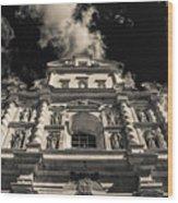Iglesia San Francisco - Antigua Guatemala Bnw I Wood Print