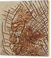 Ignite - Tile Wood Print