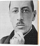 Igor Stravinsky, Russian Composer Wood Print