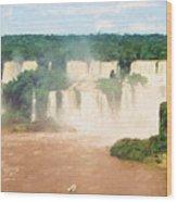 Iguazu Falls 2 Wood Print
