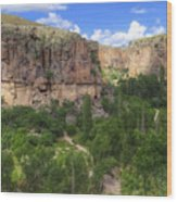 Ihlara Valley - Turkey Wood Print