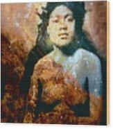 Ike Papalua Wood Print