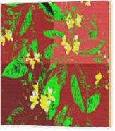 Ikebana Wood Print by Eikoni Images