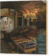 Il Mercato Francese Wood Print