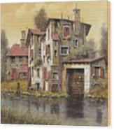 Il Mulino Giallo Wood Print