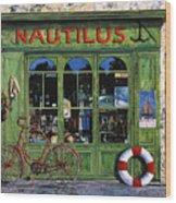 Il Nautilus Wood Print