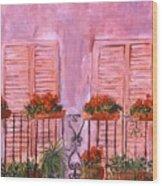 Il Terrazzo In Roma, II Wood Print