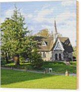 Ilam Primary School Wood Print