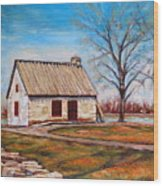 Ile Perrot House Wood Print
