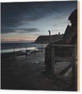 Freddie Gilfroy - Scarborough North Bay Wood Print